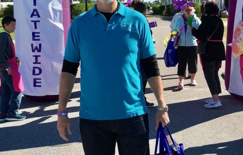 Dr Harvey, Walk to end Alzheimer's